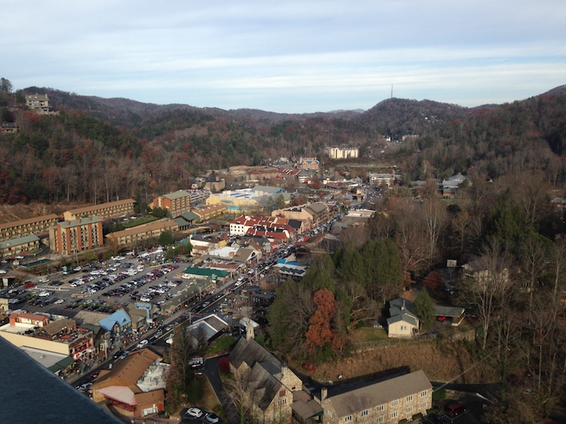 Our favorite location so far in our travels - Gatlinburg, TN