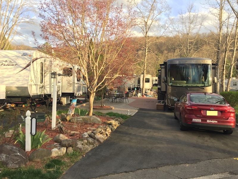Our new tiny home lot in Gatlinburg, TN