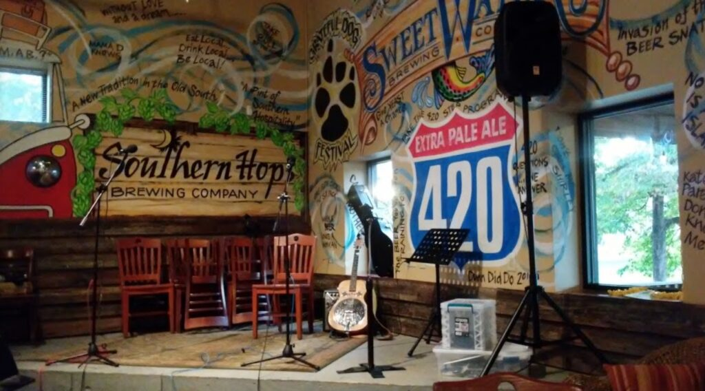 Southern Hops Brewing Company stage