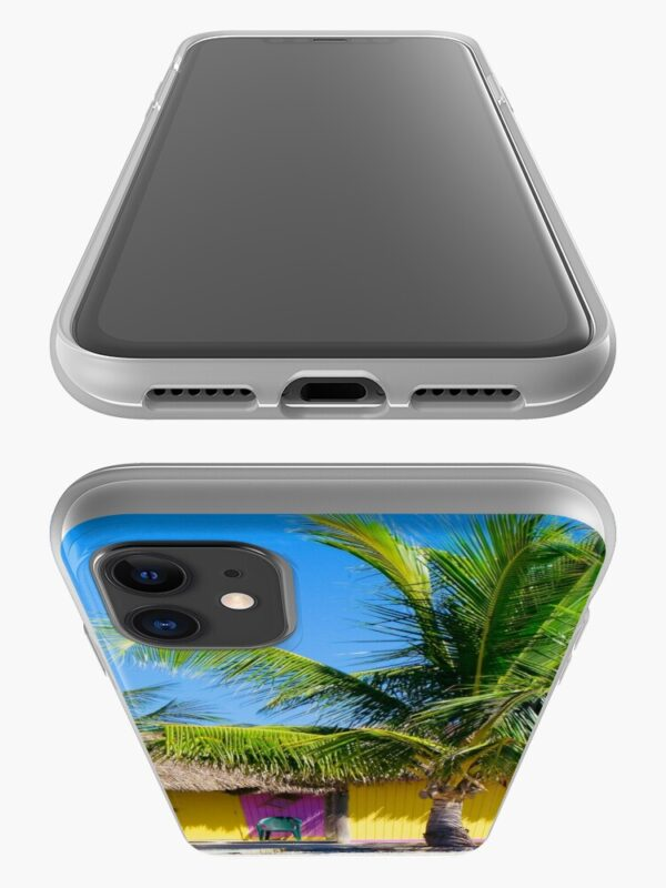 Key West Phone Case Top/Bottom View