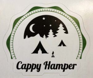 Cappy Hamper Sticker